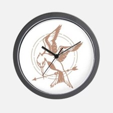 Mockingjay Art Wall Clock