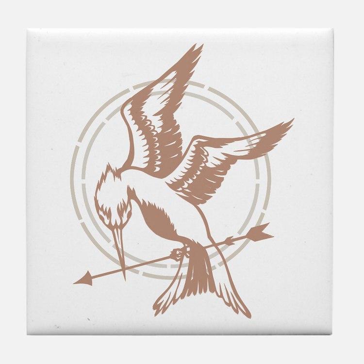 Mockingjay Art Tile Coaster
