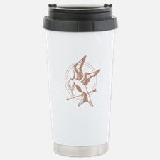 Mockingjay Art Travel Mug