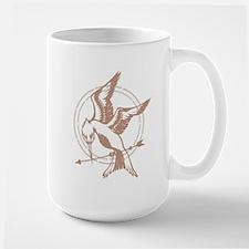 Mockingjay Art Ceramic Mugs