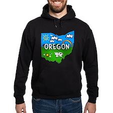 Oregon, Ohio. Kid Themed Hoodie