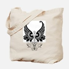 CROSS WITH WINGS Tote Bag