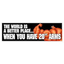 20 INCH ARMS - Bumper Sticker