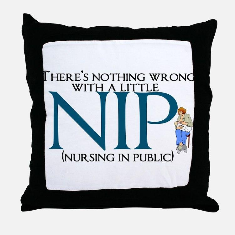 Breastfeeding Throw Pillow