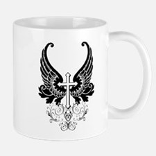 CROSS WITH WINGS Small Small Mug