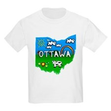 Ottawa, Ohio. Kid Themed T-Shirt