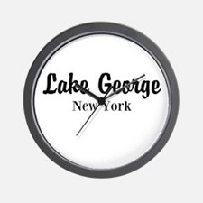 Lake George, NY Wall Clock