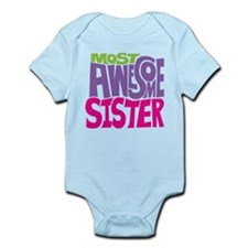 Most Awesome Sister Onesie