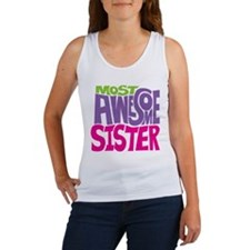 Most Awesome Sister Women's Tank Top