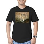 The Hunt Begins Men's Fitted T-Shirt (dark)