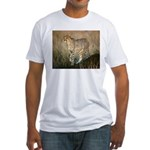 The Hunt Begins Fitted T-Shirt