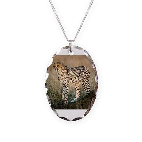 The Hunt Begins Necklace Oval Charm