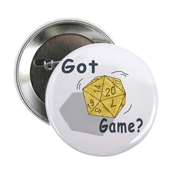 Got Game? Button