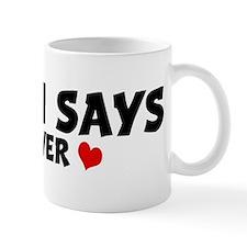 SIMON SAYS Lover Mug