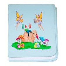 Easter Bunny & Friends baby blanket