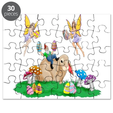 Easter Bunny & Friends Puzzle