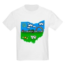 Pittsburgh Junction, Ohio. Kid Themed T-Shirt