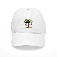 Tropical Holiday Baseball Cap
