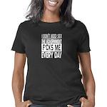 Organic Men's Fitted T-Shirt (dark)