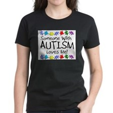 someone with autism loves me puzz T-Shirt