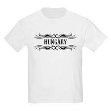 Tribal Hungary Kids T-Shirt