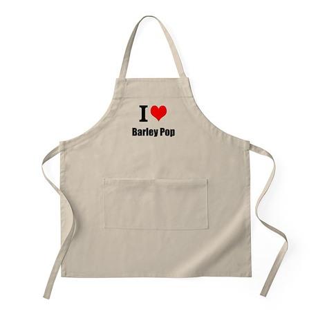 I heart Barley Pop Apron