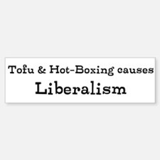 Tofu Hot-Boxing Liberalism