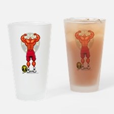 HUGH MONGUS FLEX - Drinking Glass