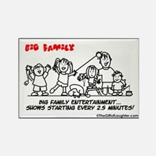 Large family Rectangle Magnet