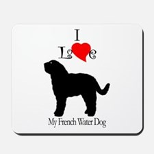 Barbet (French Water Dog) Mousepad