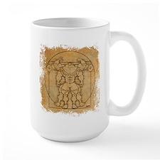 Vitruvian MUSCLEHEDZ Mug