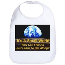 It's A Small World Bib
