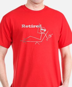 Retired Stick Figure T-Shirt