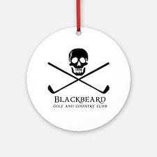 Blackbeard Golf Country Club Ornament (Round)
