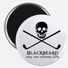 Blackbeard Golf Country Club Magnet