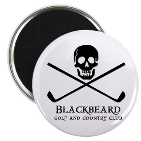 "Blackbeard Golf Country Club 2.25"" Magnet (10 pack"