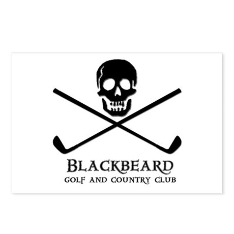 Blackbeard Golf Country Club Postcards (Package of