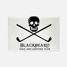 Blackbeard Golf Country Club Rectangle Magnet