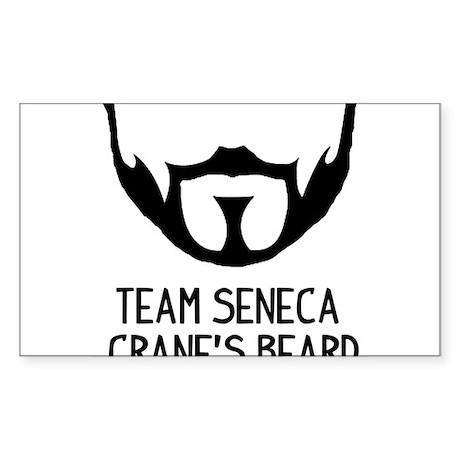 Team Seneca Crane's Beard Sticker (Rectangle)
