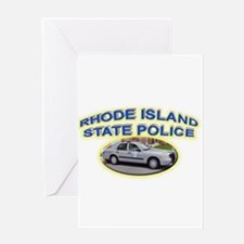 Rhode Island State Police Greeting Card