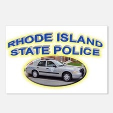 Rhode Island State Police Postcards (Package of 8)