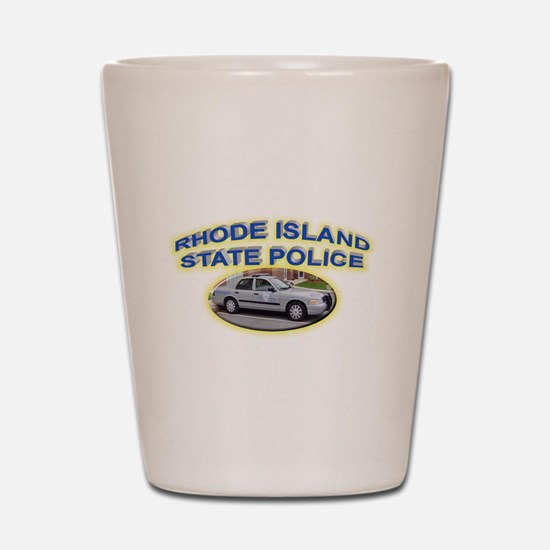 Rhode Island State Police Shot Glass