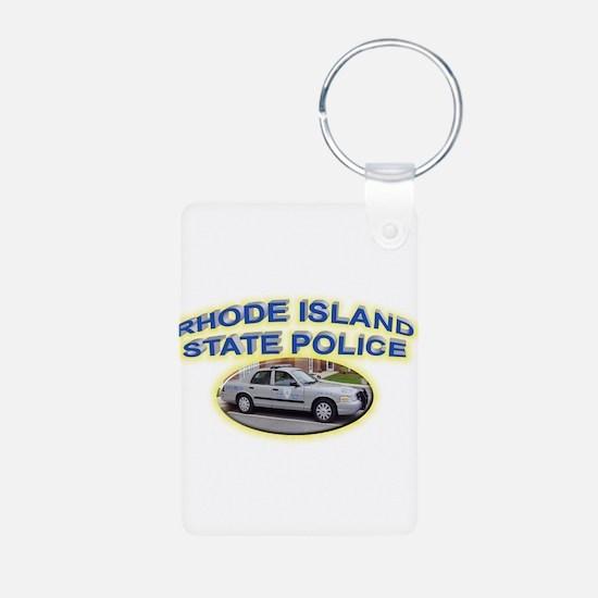 Rhode Island State Police Keychains
