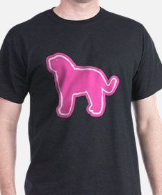 Barbet (French Water Dog) Black T-Shirt