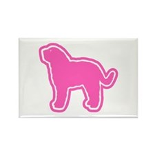Barbet (French Water Dog) Rectangle Magnet