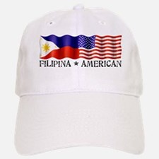 Fil Am Flag - Baseball Baseball Cap