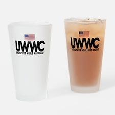 World War Champs Drinking Glass