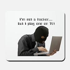 I'm not a hacker, but I play Mousepad