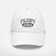 Flint Michigan Baseball Baseball Cap