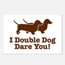 I Double dog Dare You, Dachshund Postcards (Packag